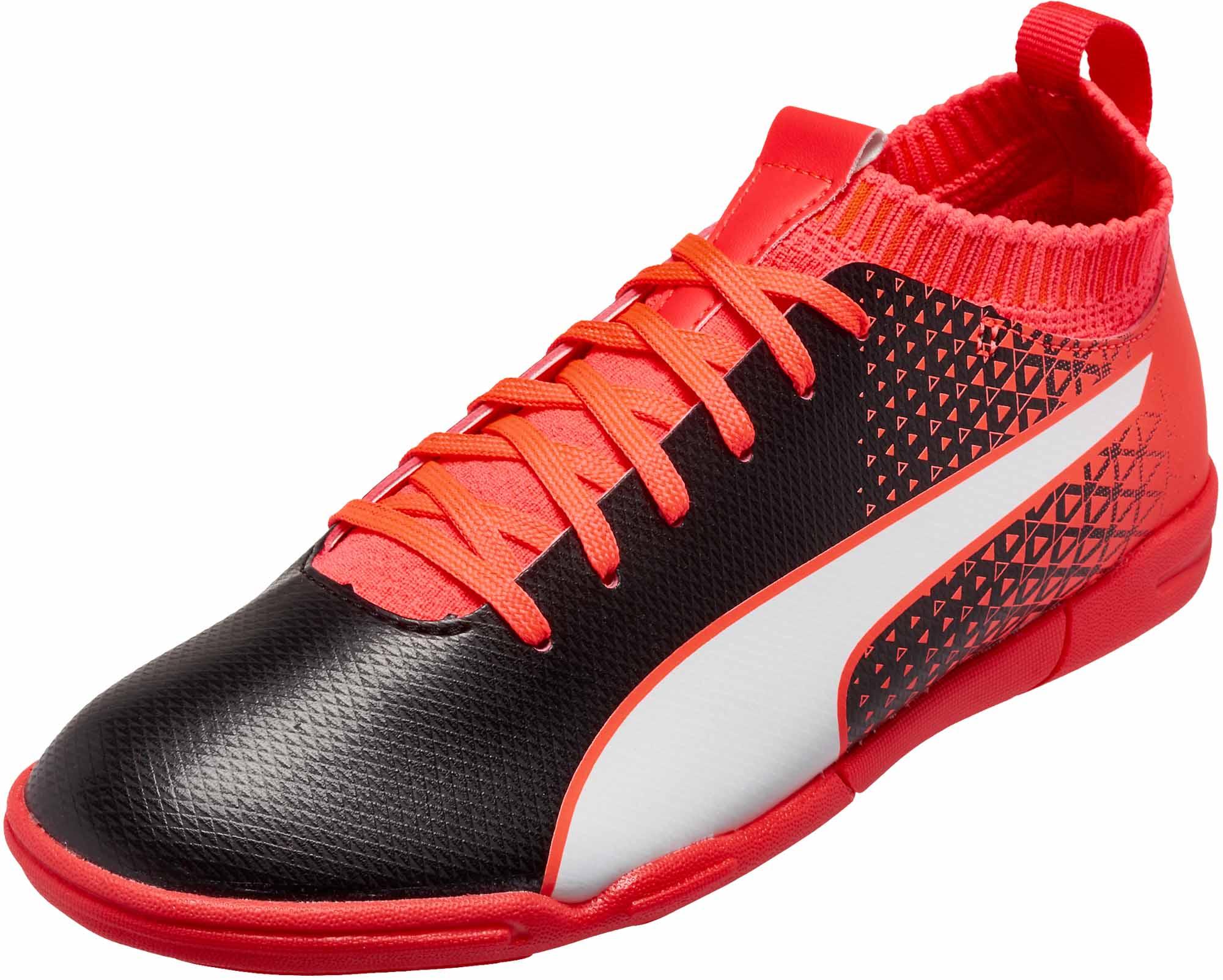 afaa3a242b2 Puma Kids evoKNIT FTB IT Shoes - Puma Soccer Shoes