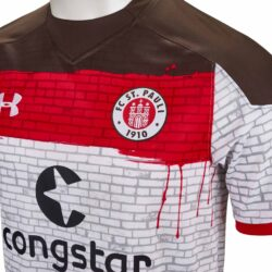 buy online ef793 f7251 Under Armour FC St. Pauli Away Jersey 2017-18