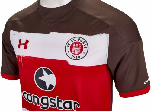 Under Armour FC St. Pauli Home Jersey 2017-18