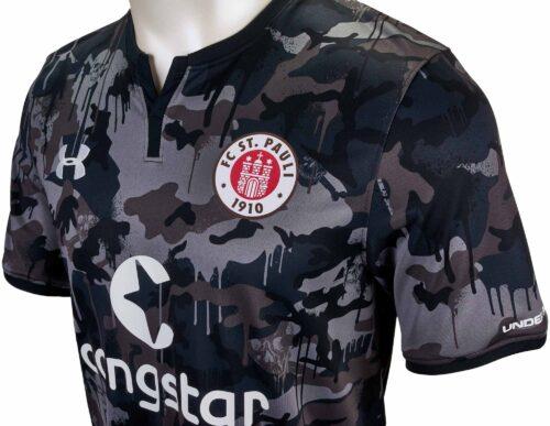 Under Armour FC St. Pauli Third Jersey 2017-18