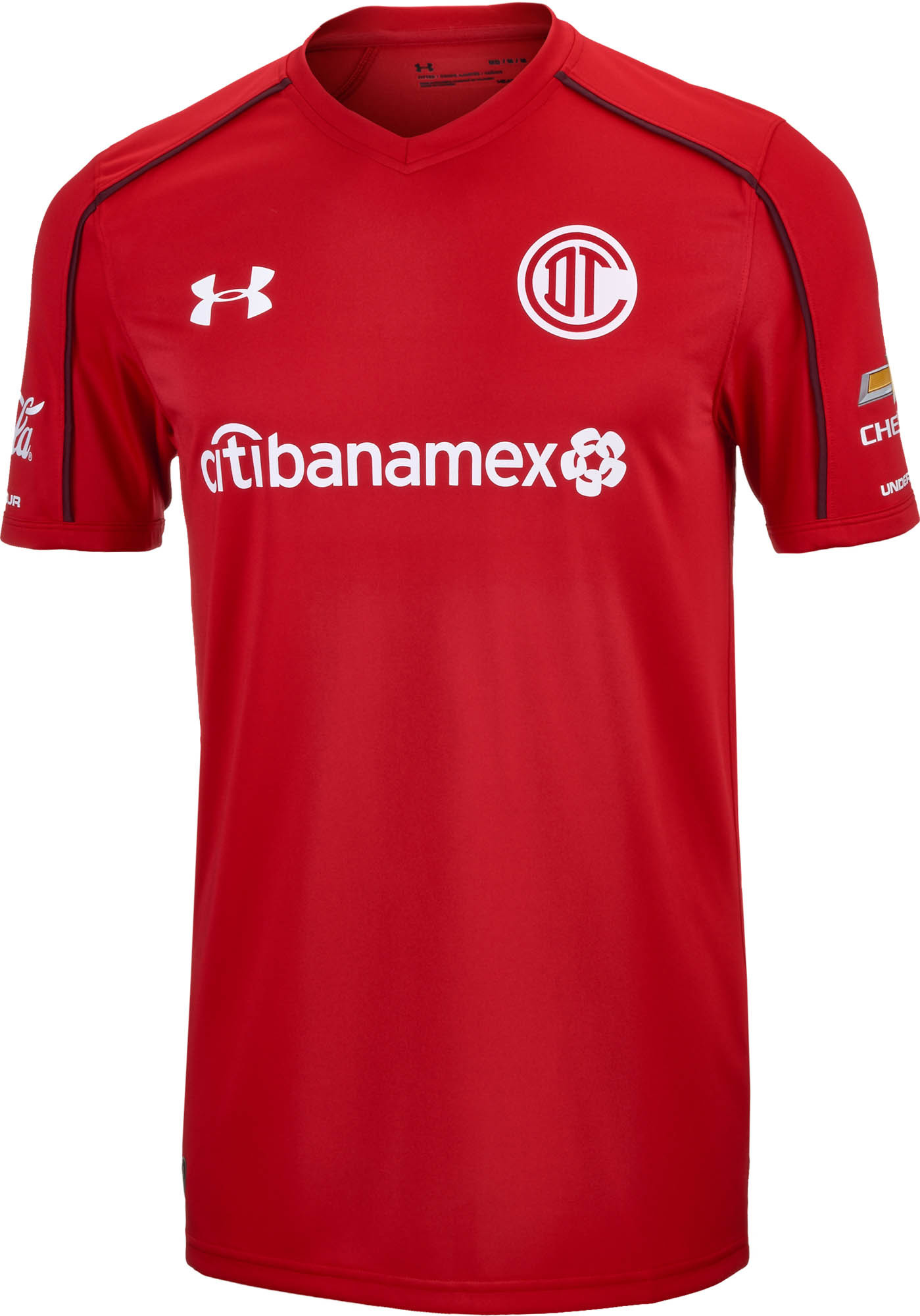 69fe71f0df4 Under Armour Toluca Home Jersey 2017-18 - SoccerPro.com