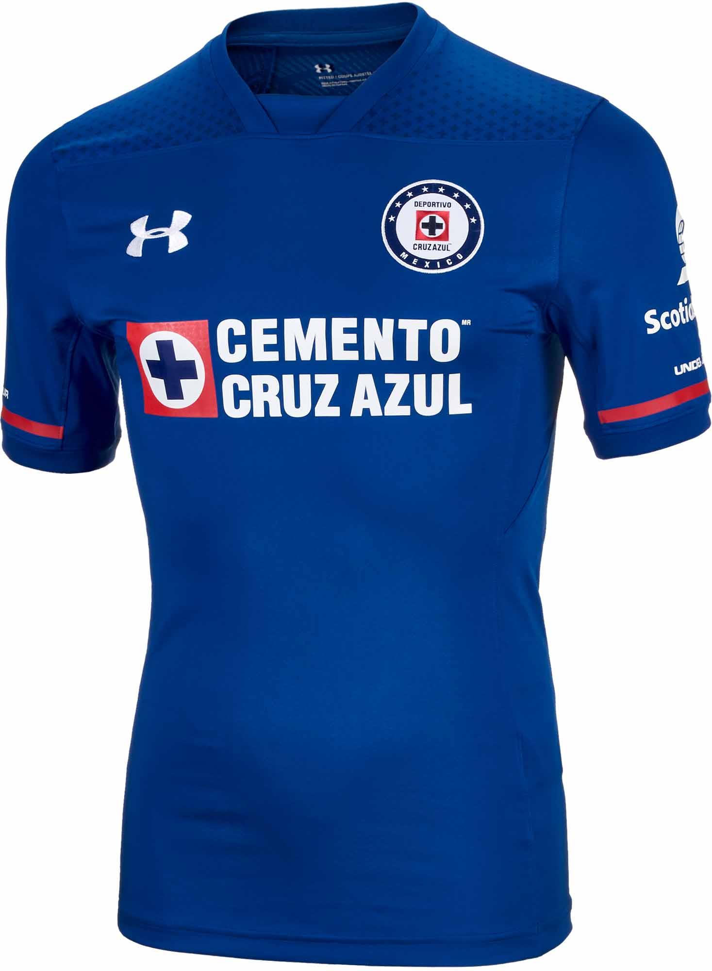 f748f95a301 Under Armour Cruz Azul Authentic Away Jersey 2017-18 - SoccerPro