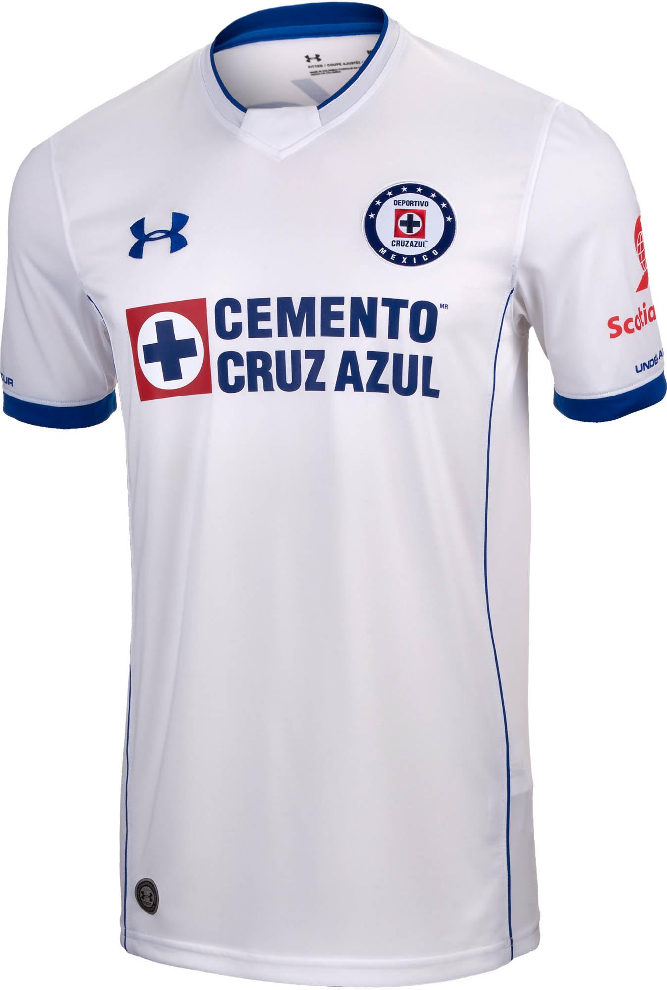 0016abd77c4 Under Armour Cruz Azul Away Jersey 2017-18