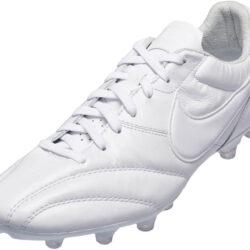 d17e26baa The Nike Premier FG - Triple White Nike Soccer Cleats
