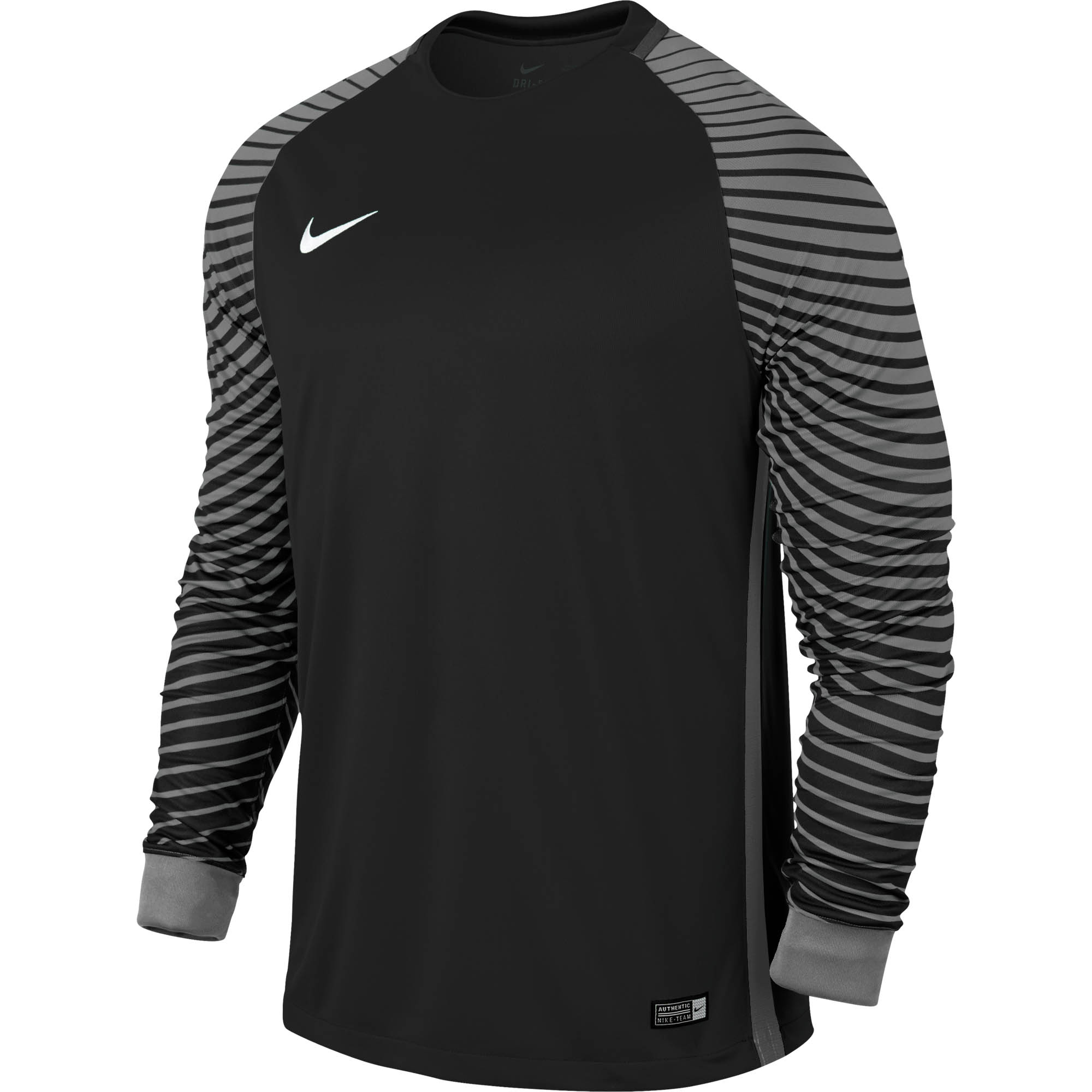 67f1a9232 Nike Gardien Keeper Jersey - Black Goalie Jerseys