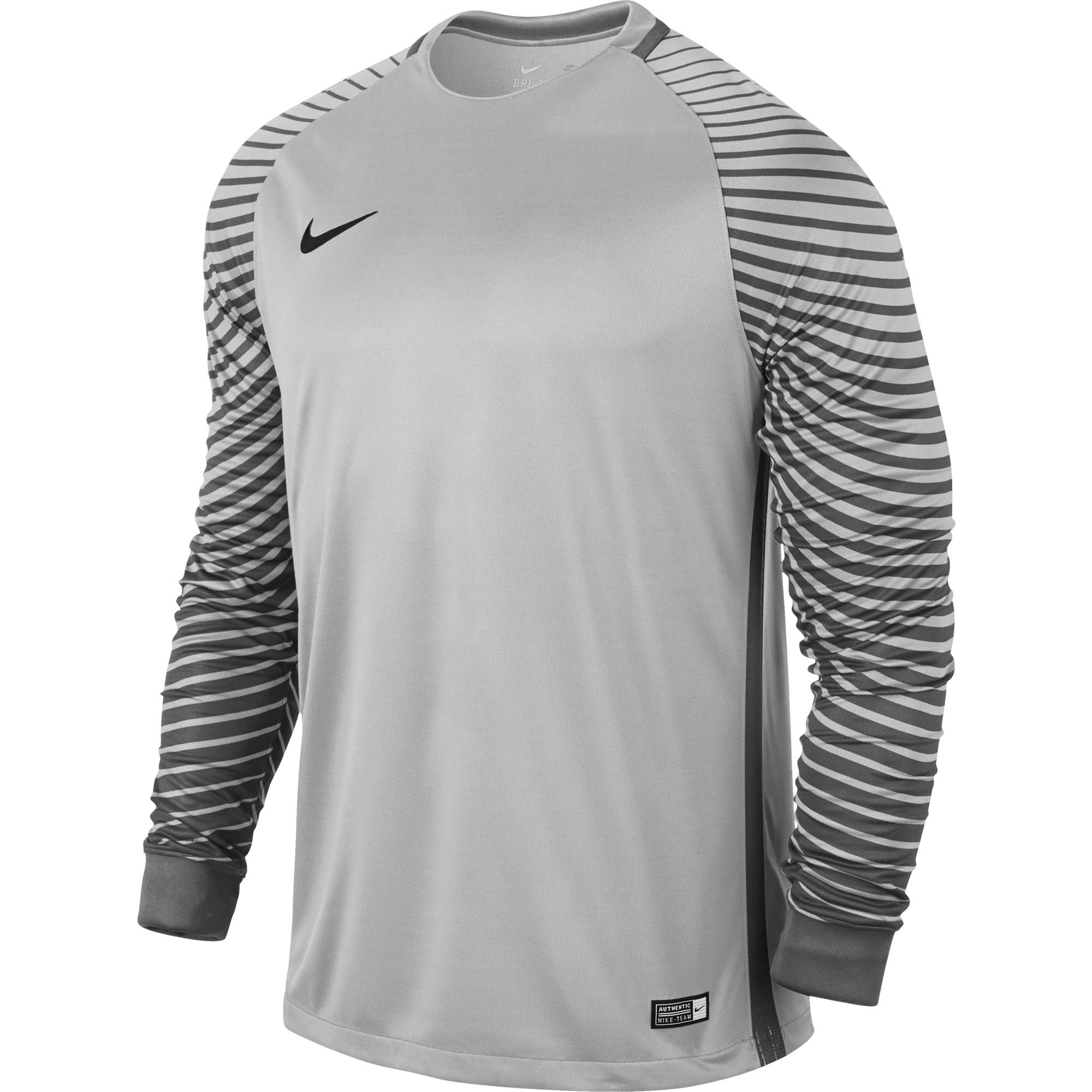 the latest faa4e 6b968 Nike Gardien Goalkeeper Jersey – Pure Platinum Cool Grey