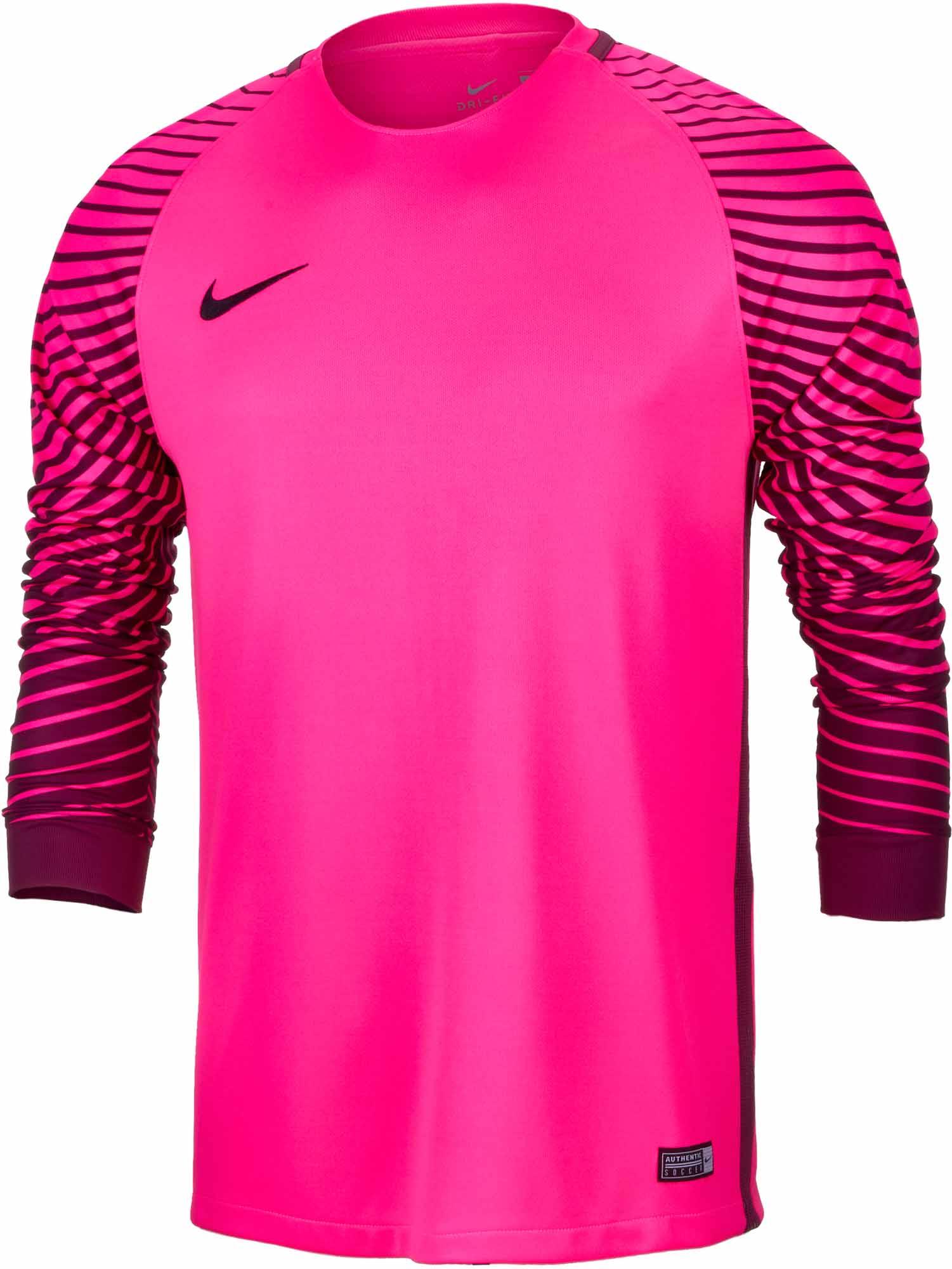 on sale 540db aa835 Nike Gardien Goalkeeper Jersey – Hyper Pink Villain Red