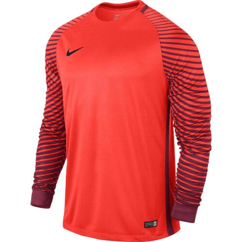 Nike Gardien Goalkeeper Jersey – Bright Crimson/Deep Garnet