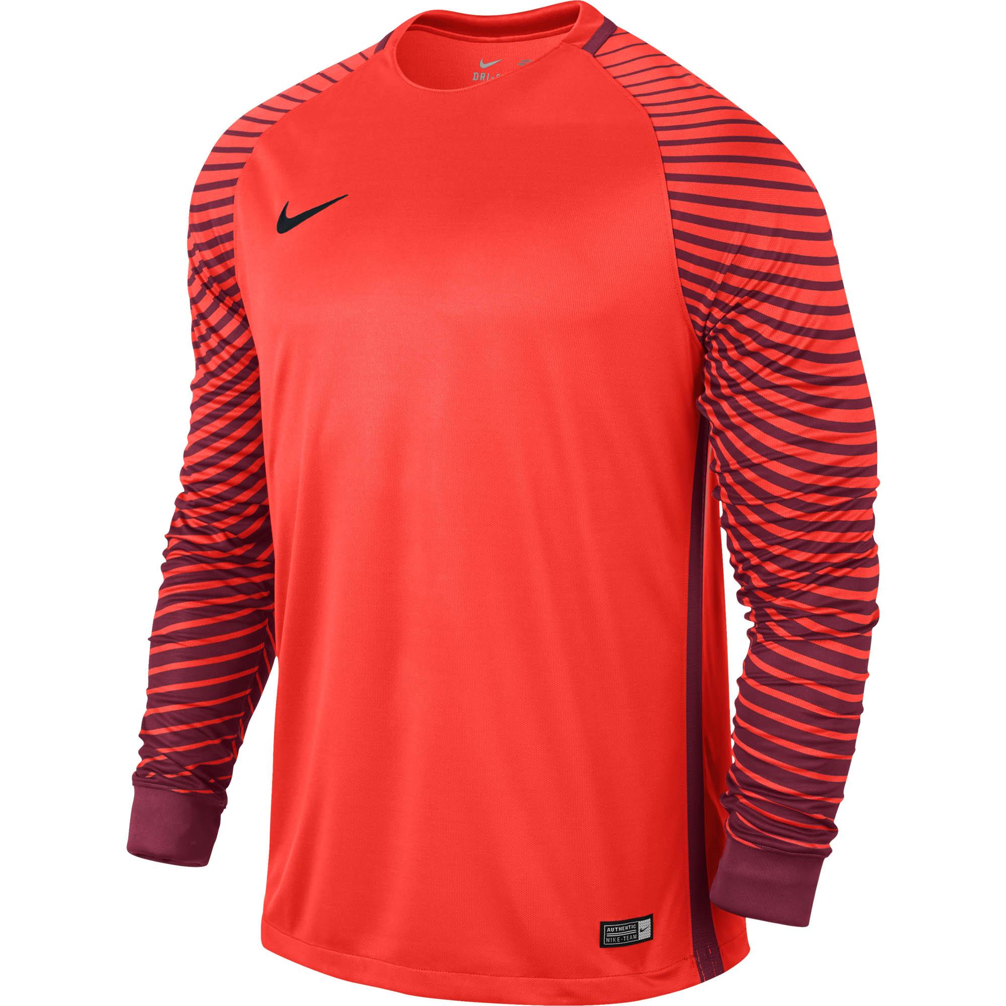 627160e023e Nike Gardien Goalie Jersey - Bright Crimson Goalkeeper Jersey