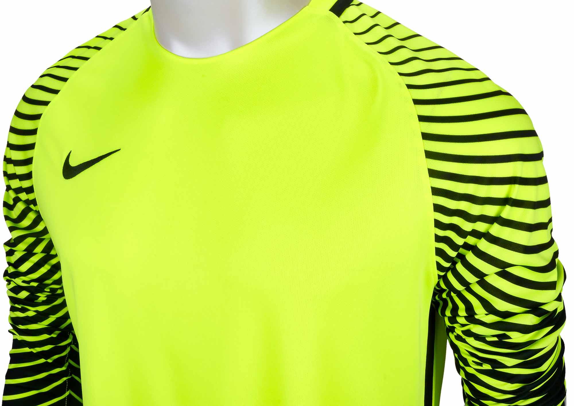 a7cb6b45184 Nike Gardien Goalkeeper Jersey - Volt & Black