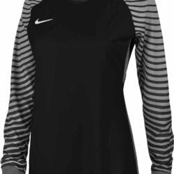 online store 4b637 a0882 Nike Womens Gardien Goalkeeper Jersey – Black Cool Grey