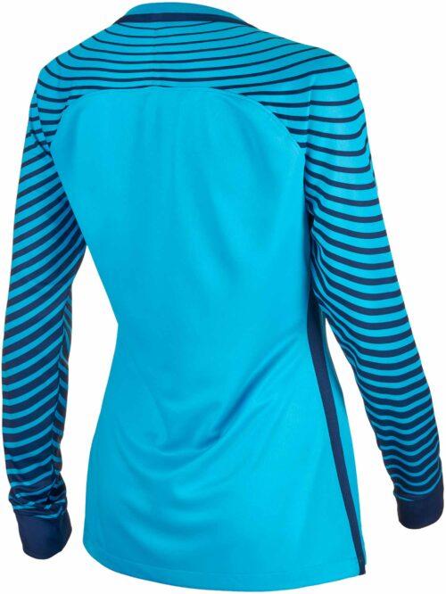 Nike Womens Gardien Goalkeeper Jersey – Current Blue/Midnight Navy