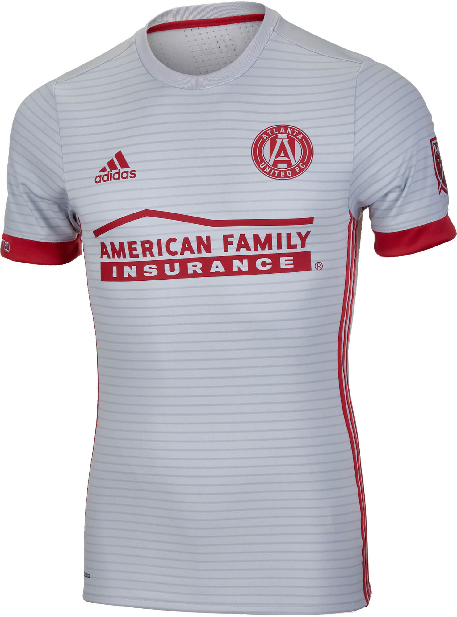 factory price 70b55 3c420 adidas Atlanta United Authentic Away Jersey 2017-18