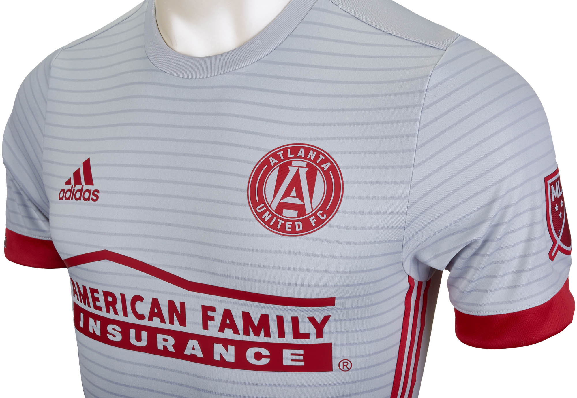 best service 710e5 f5581 2017/18 adidas Atlanta United Authentic Away Jersey