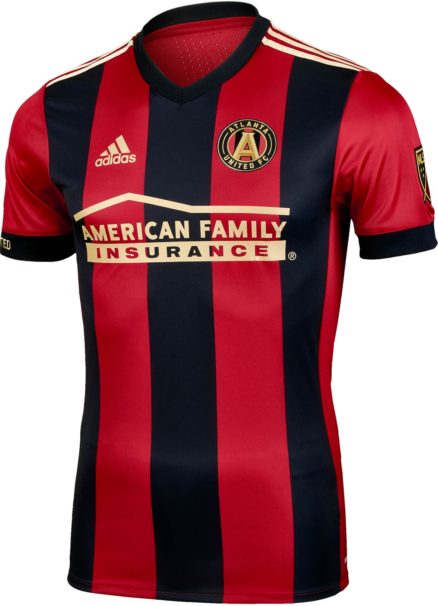 quality design 659a7 6209e adidas Atlanta United Authentic Home Jersey 2017-18