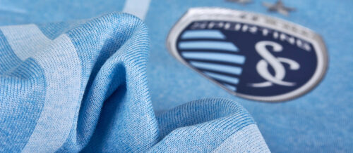 adidas Sporting KC Authentic Home Jersey 2017-18