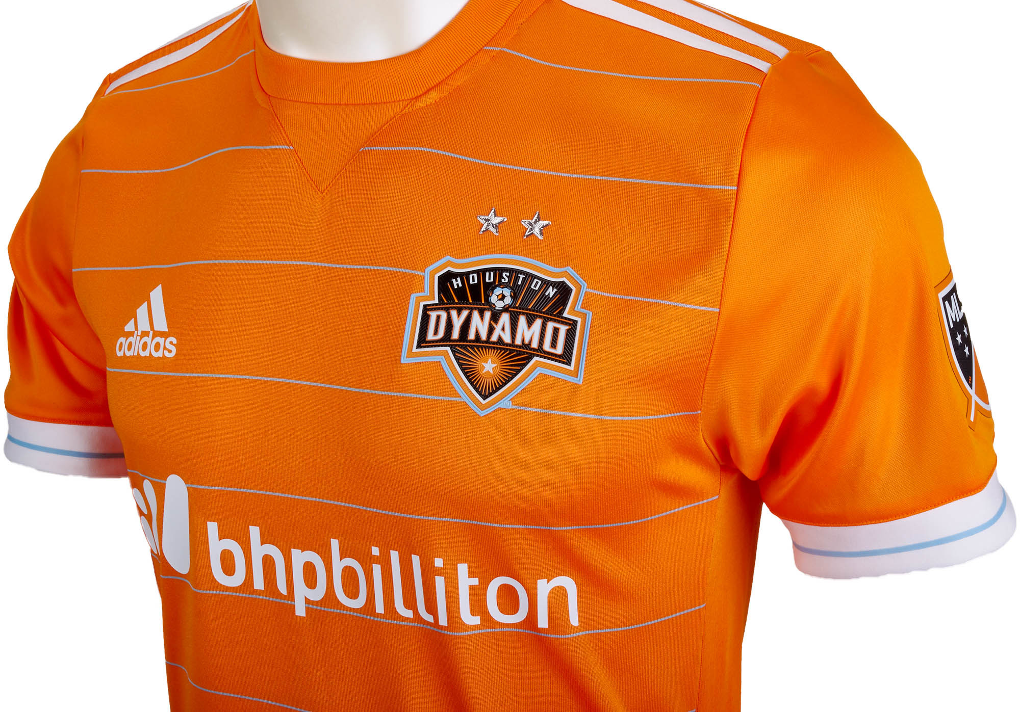 huge discount 6c6c8 dbdba adidas Authentic Houston Dynamo Home Jersey - 2017-18 MLS Soccer Jerseys