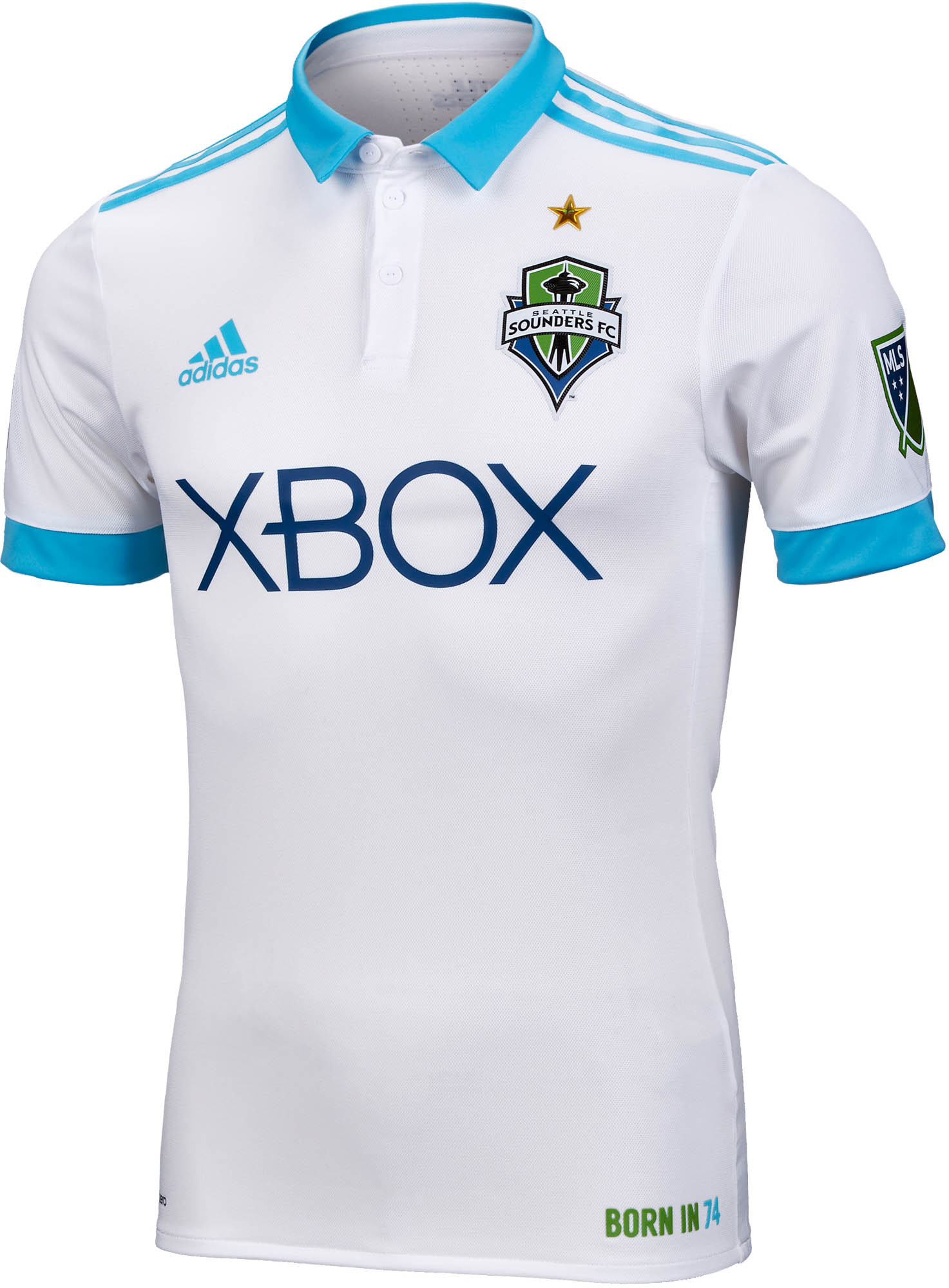 size 40 9cf0b 47cfc adidas Seattle Sounders Authentic Away Jersey 2017-18