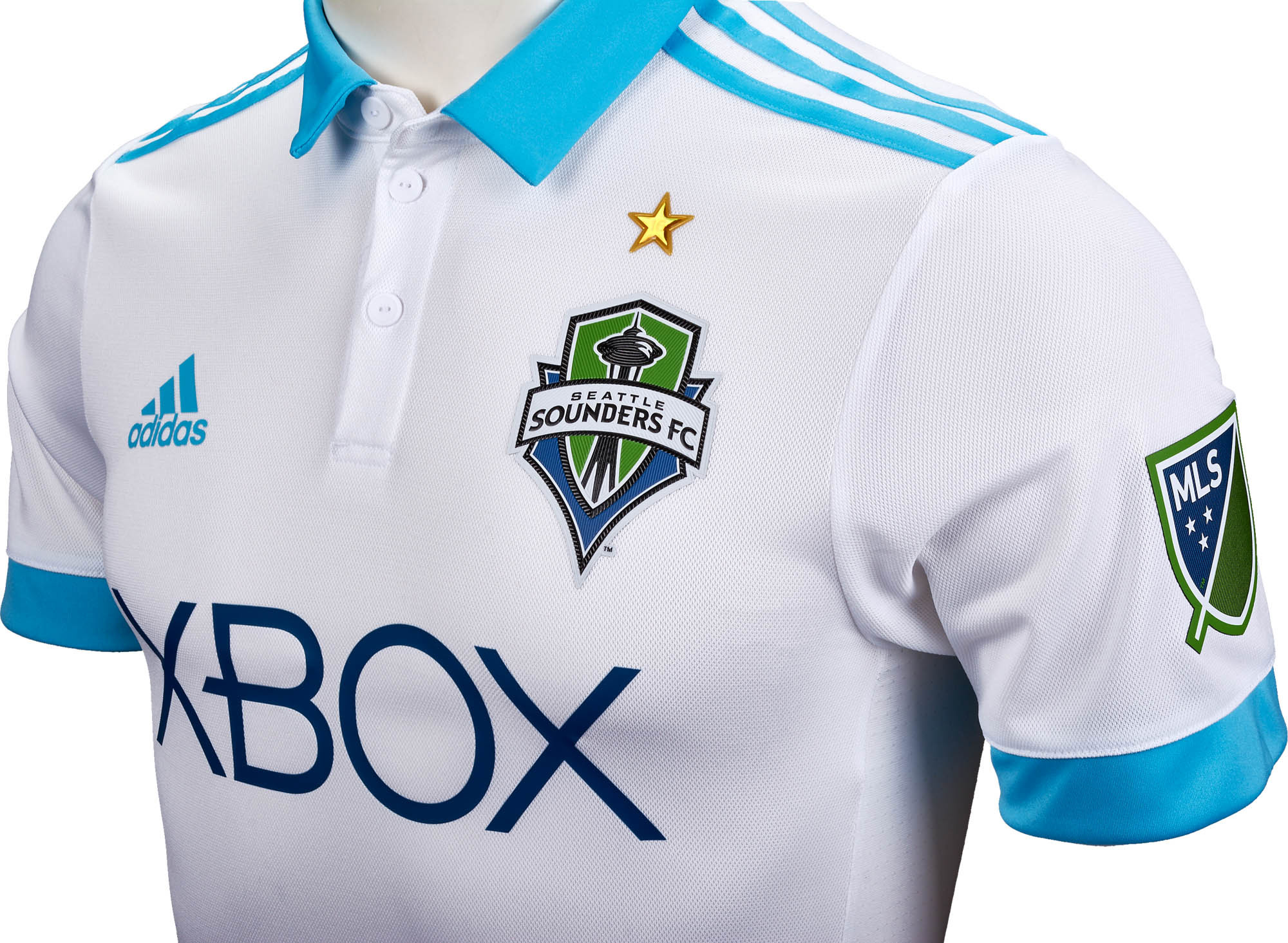 watch 420af 43a8e 2017/18 adidas Seattle Sounders Authentic Away Jersey