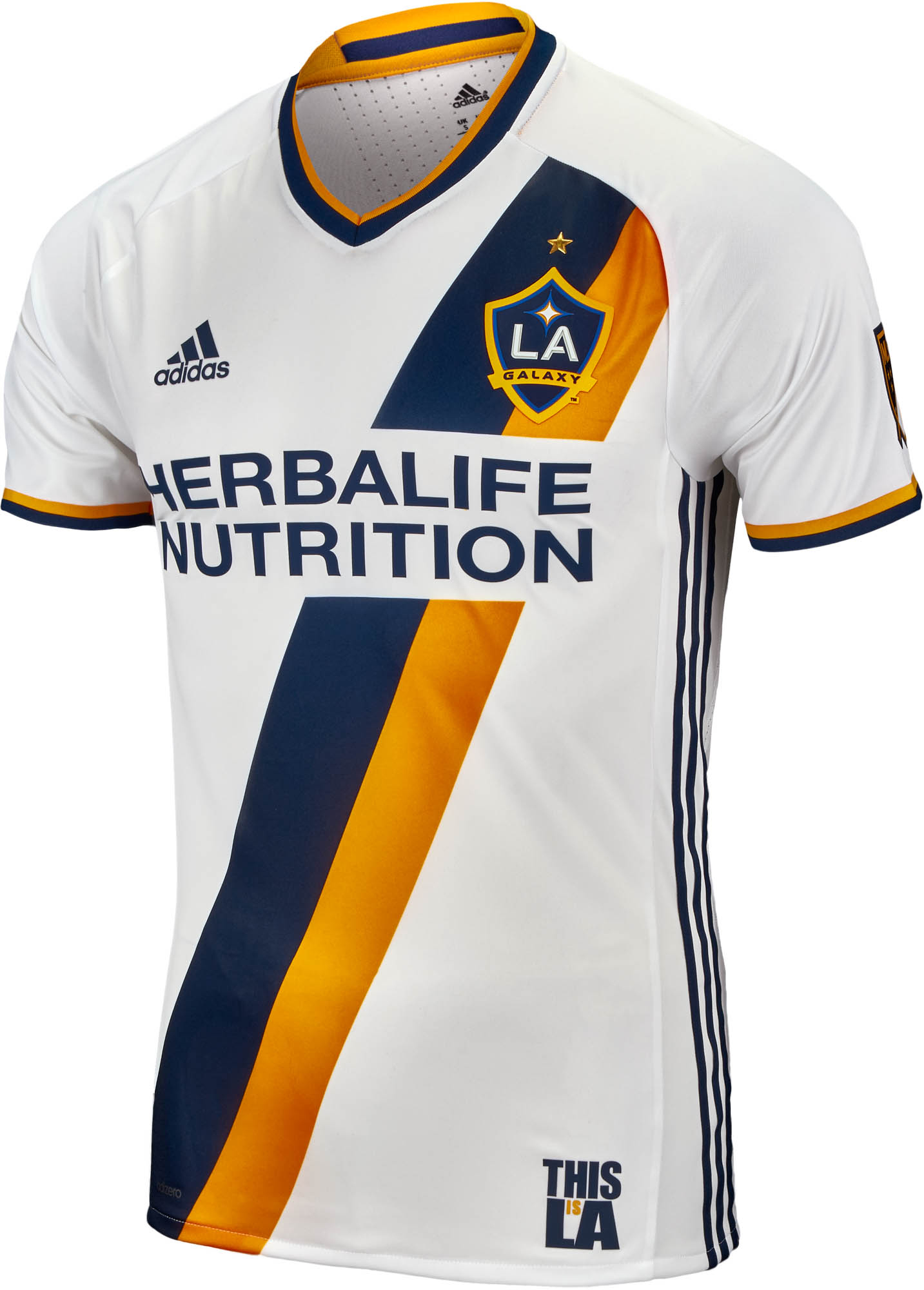 wholesale dealer e8002 3cc1b adidas LA Galaxy Authentic Home Jersey 2016-17