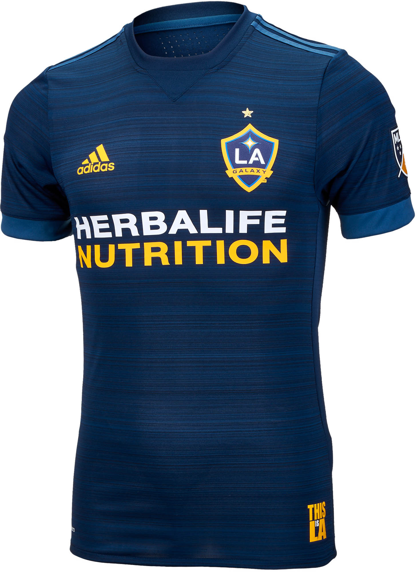new concept 8bb6a 11fd2 adidas LA Galaxy Authentic Away Jersey 2017-18