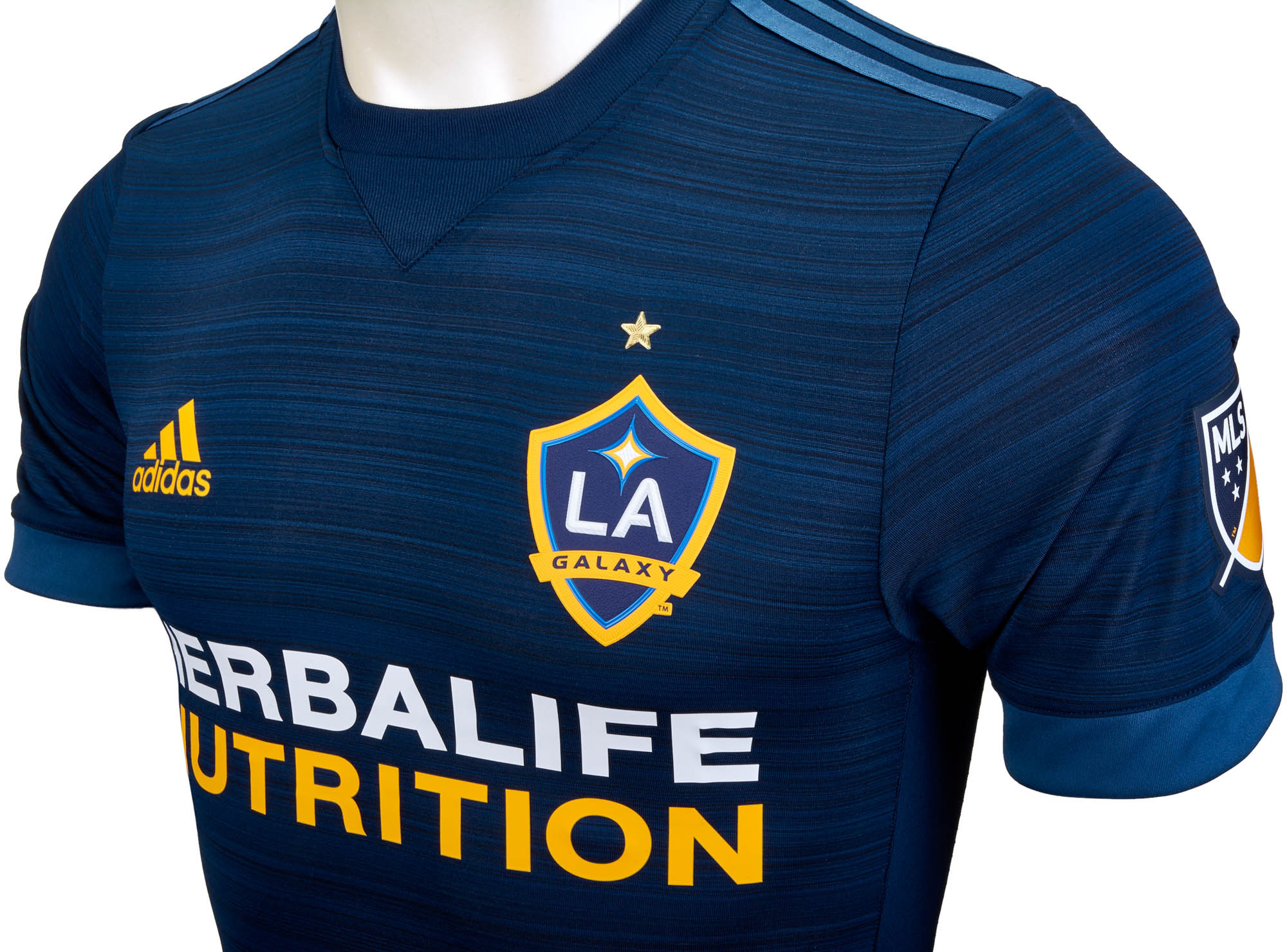 adidas Authentic LA Galaxy Away Jersey - 2017 18 13ef8c488