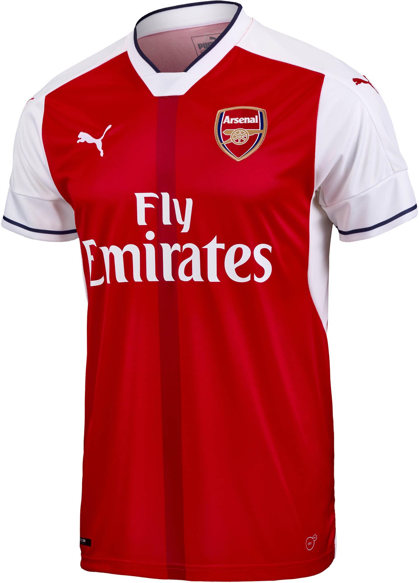 Puma Arsenal Home Jersey 2016 Arsenal Soccer Jerseys