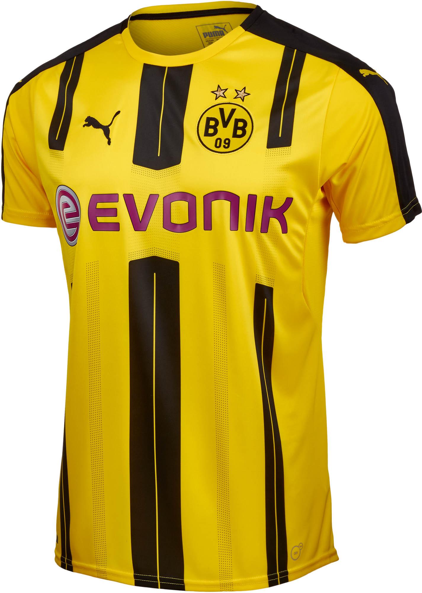7dcf2fd34 Puma Borussia Dortmund Home Jersey - 2016 Dortmund Soccer Jerseys