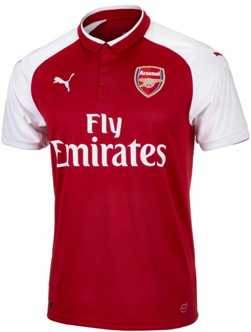 2017-18 Puma Arsenal Home Jersey 2017-18