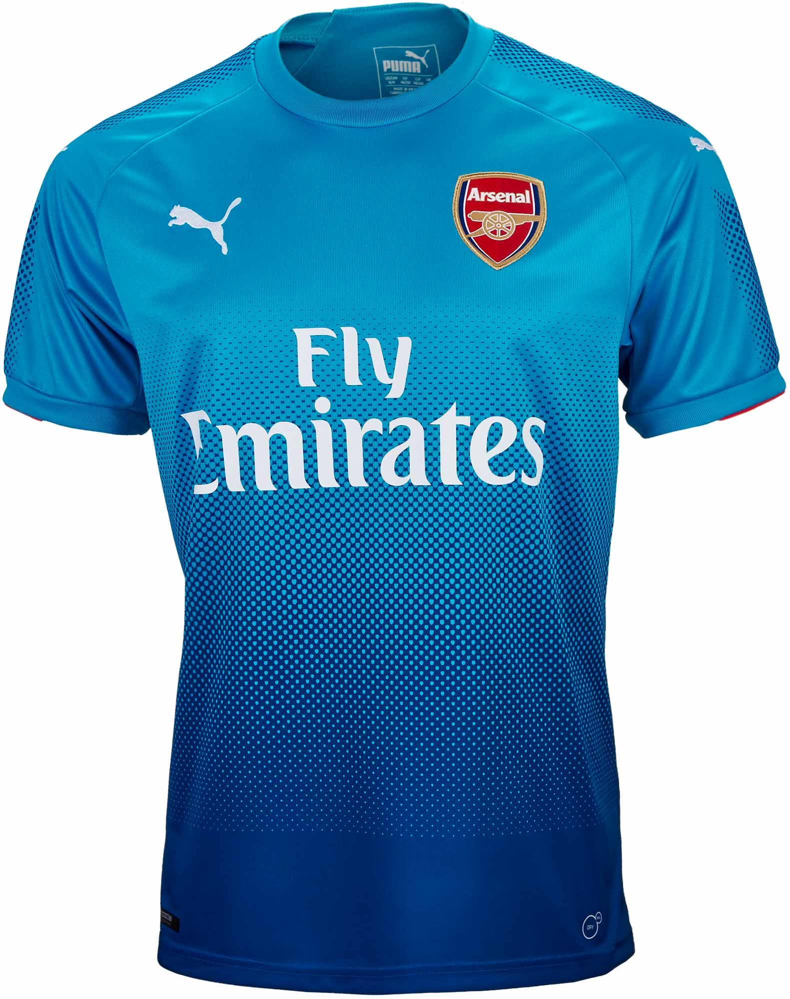 04f061bf0 Puma Arsenal Away Jersey - 2017 18 Soccer Jerseys