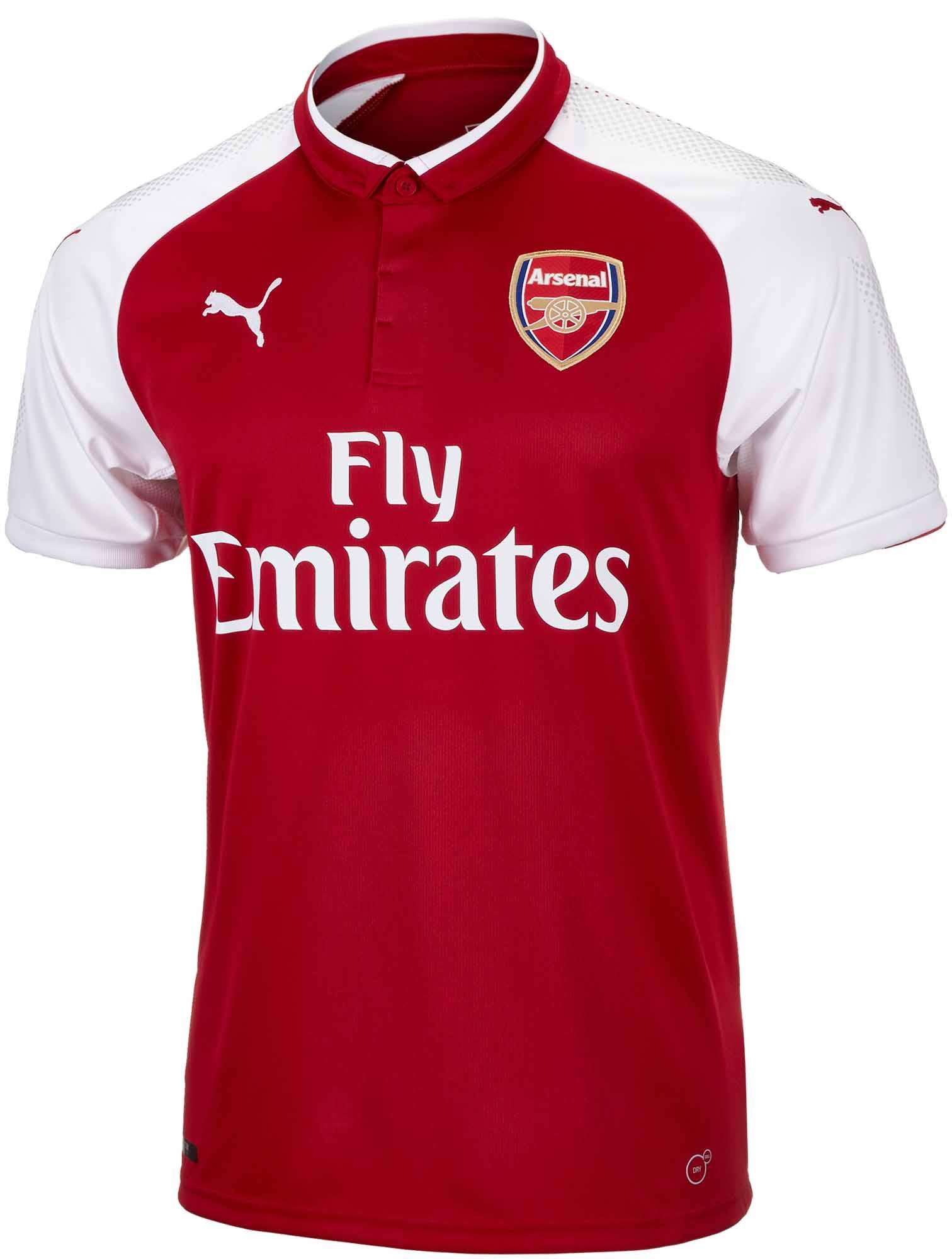 Puma Arsenal Kids Home Jersey - 2017/18 Soccer Jerseys