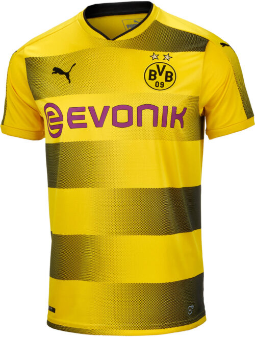 2017/18 Puma Borussia Dortmund Home Jersey