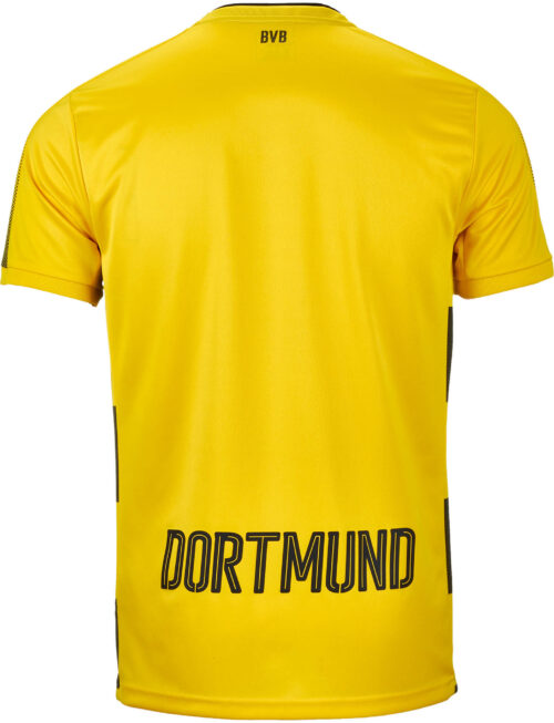 Puma Borussia Dortmund Home Jersey 2017-18 NS