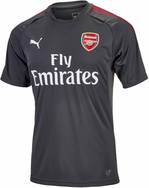Puma Arsenal Training Jersey – Dark Shadow