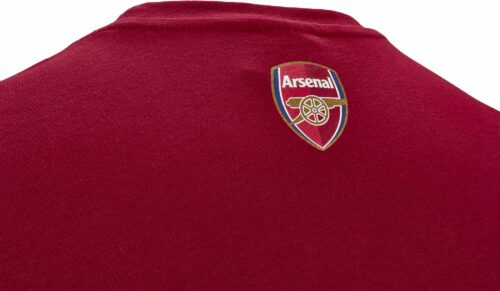 Puma Arsenal Graphic Tee – Rio Red