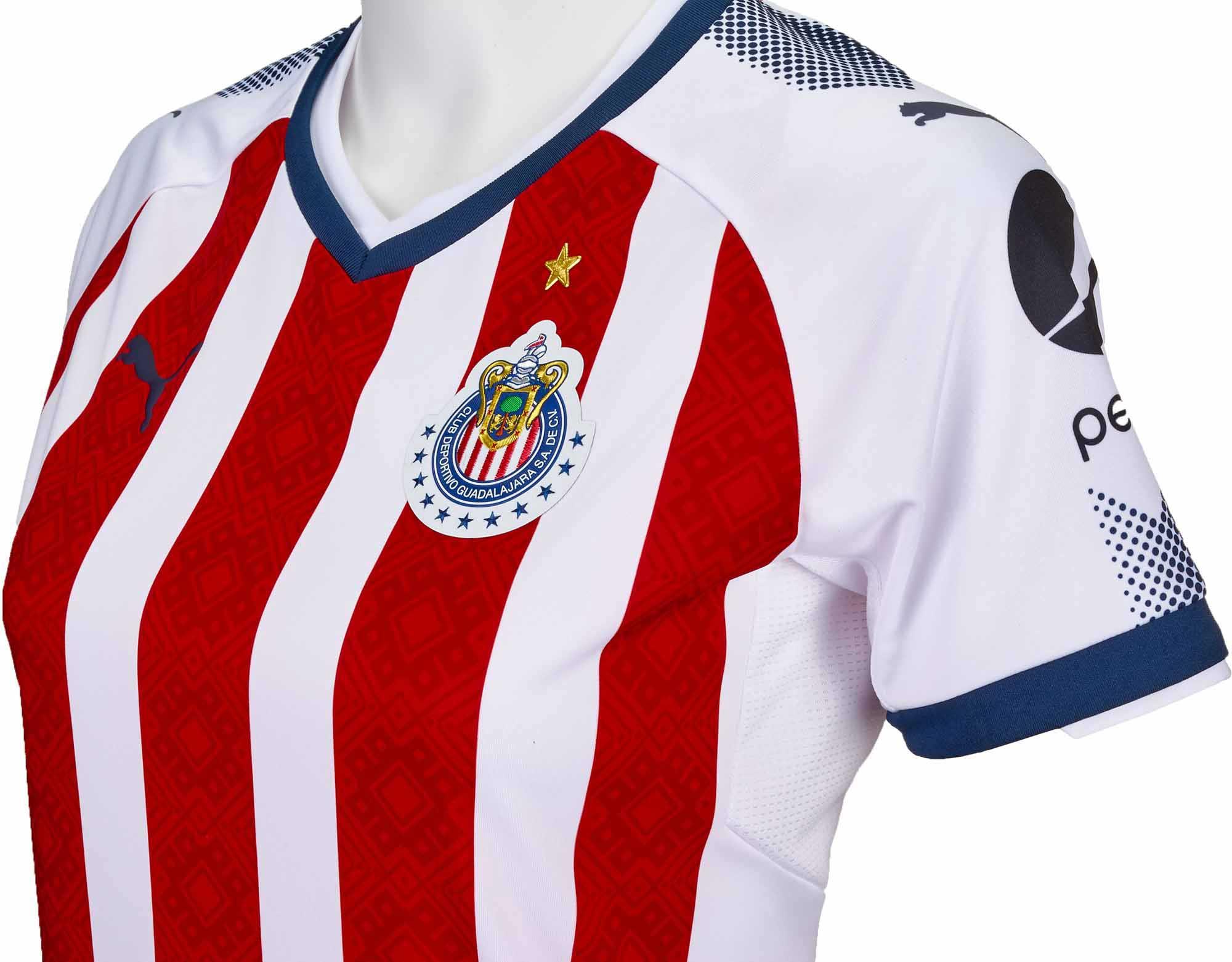 2017 18 Puma Chivas Women Home Jersey - SoccerPro.com 01ba2bdce