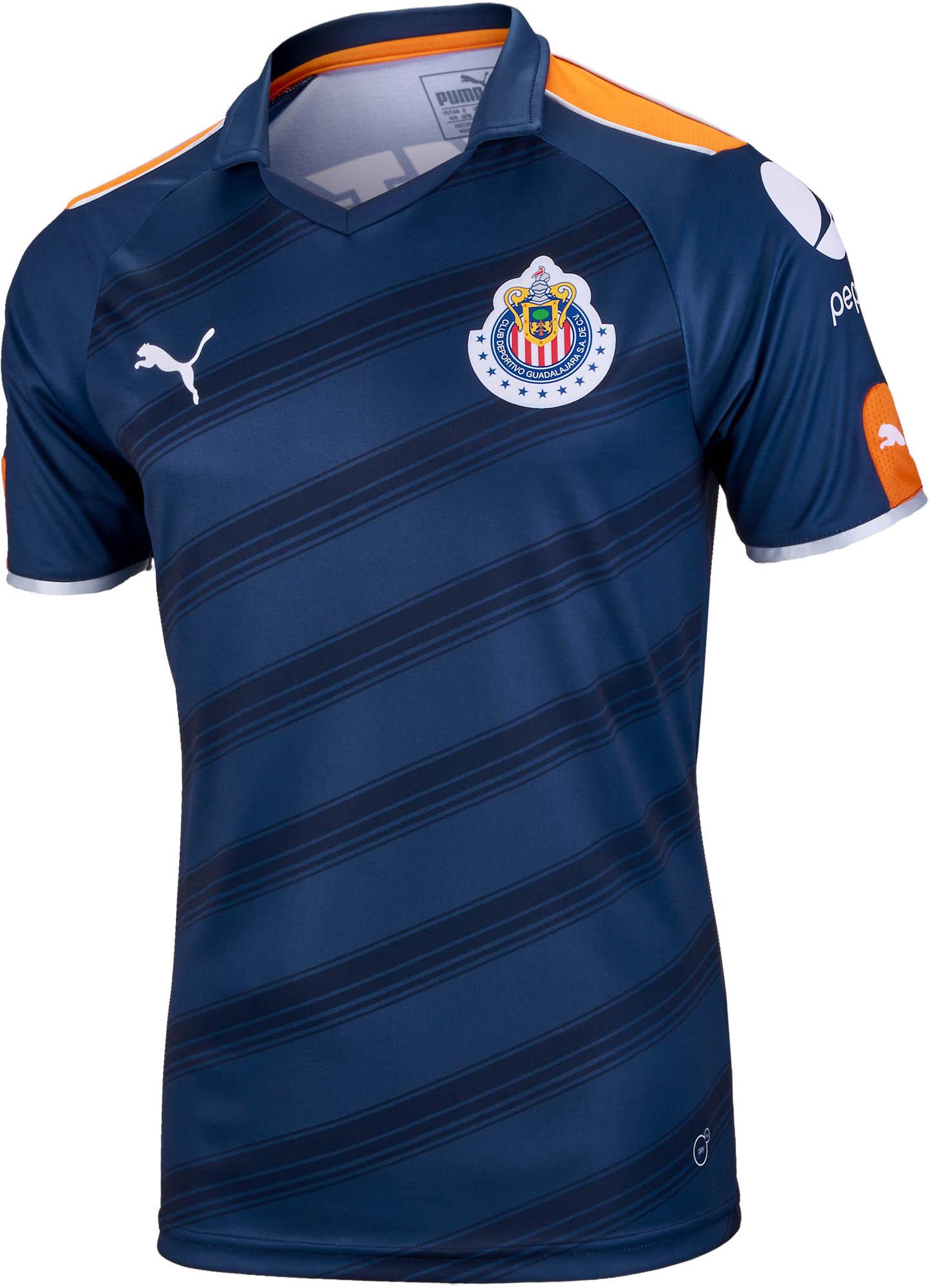 0b6a65a5a Puma Chivas 3rd Jersey 2016-17