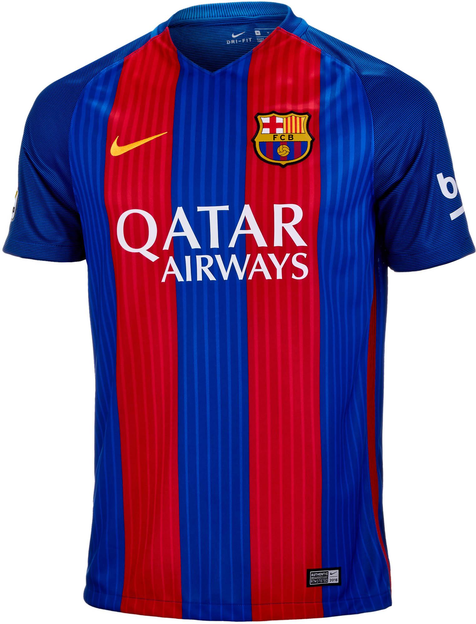 84dc84338 Nike Barcelona Home Jersey - 2017 FC Barcelona Jerseys