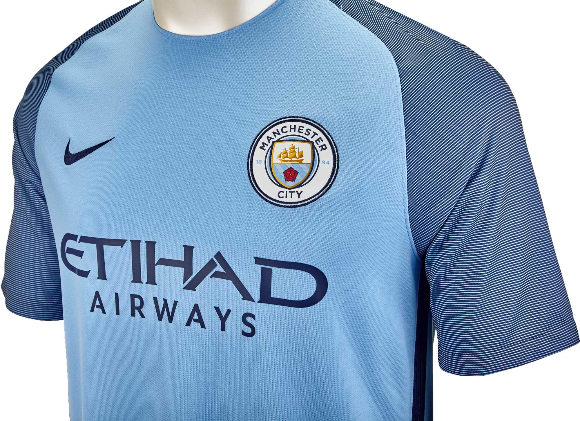 Nike Manchester City Home Jersey- 2016 Man City Jerseys