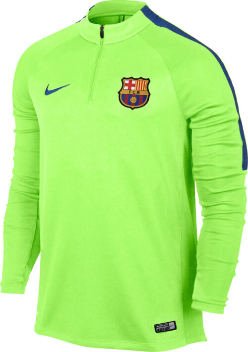 Nike Barcelona Drill Top – Ghost Green/Game Royal