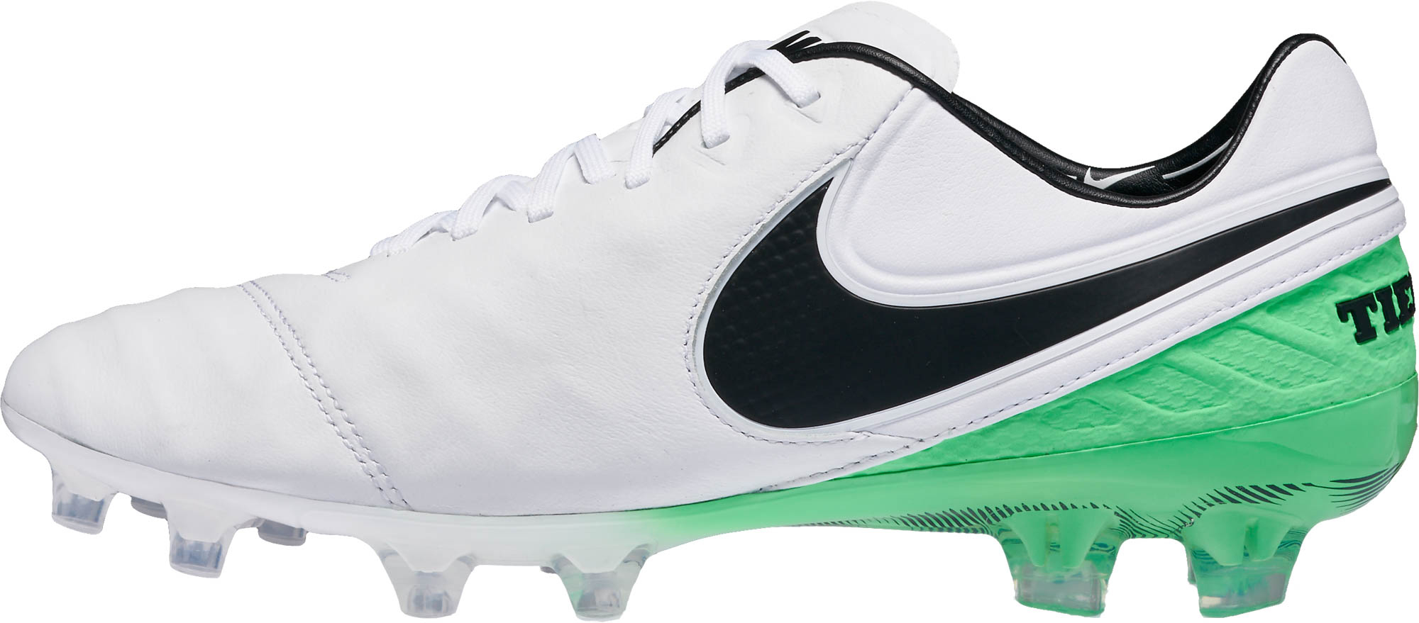 buy online 82f41 bee78 Nike Tiempo Legend VI FG – White Electro Green