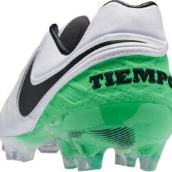 lowest price b7c4d db1b4 Nike Tiempo Legend VI FG - White and Electric Green Tiempo ...