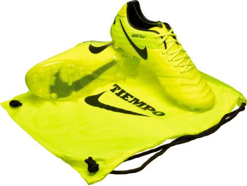 Nike Tiempo Legend VI FG – Volt/Black