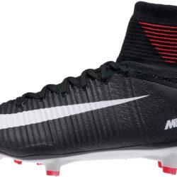 info for cefba f49ba Nike Mercurial Superfly V FG Soccer Cleats - Black White - SoccerPro.com