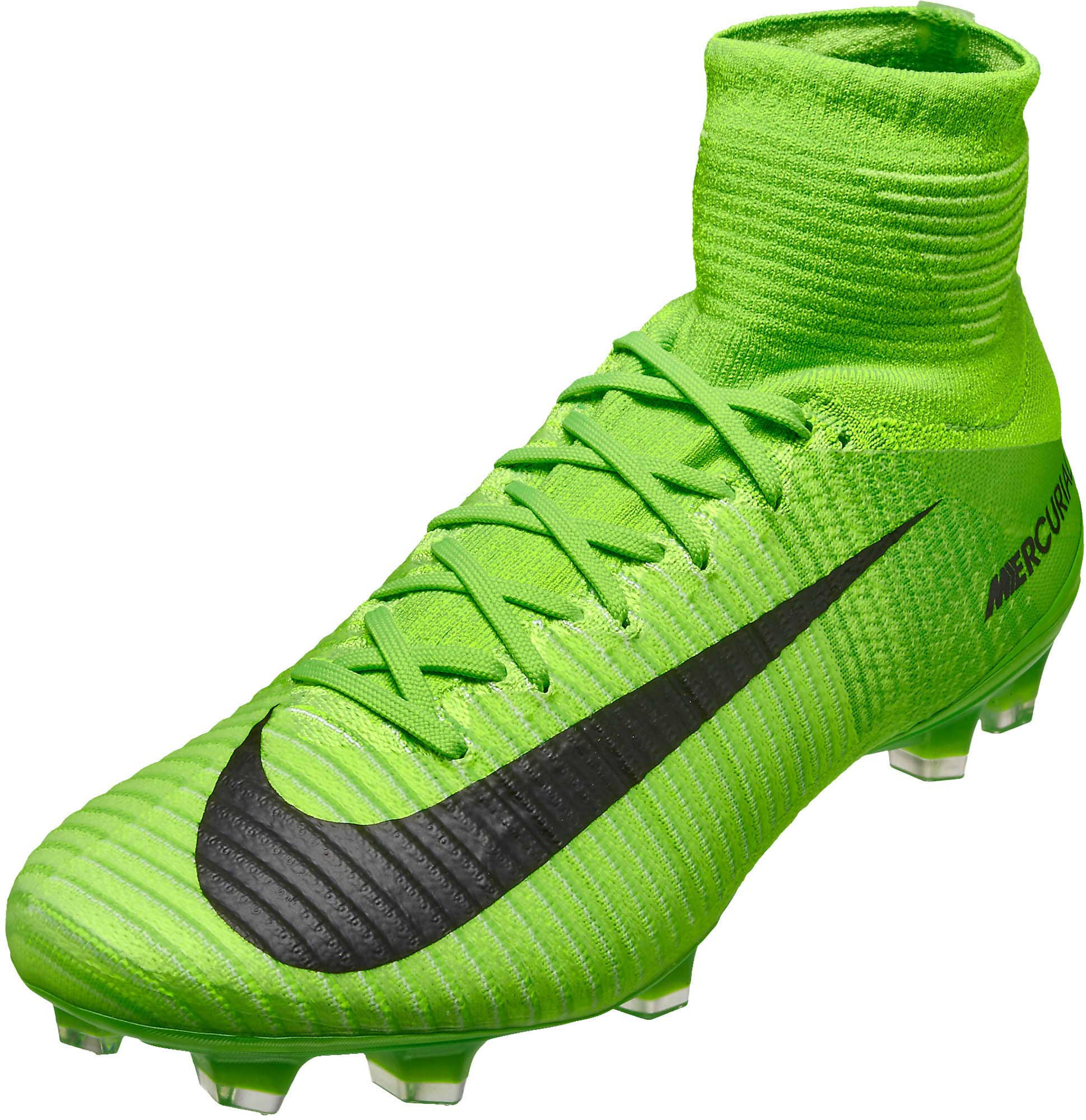 quality design 195b9 24e8b Nike Mercurial Superfly V FG – Electric Green Ghost Green