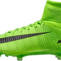 8b00e0f24 Nike Mercurial Superfly V FG – Electric Green/Ghost Green. Part # 831940 305  ...