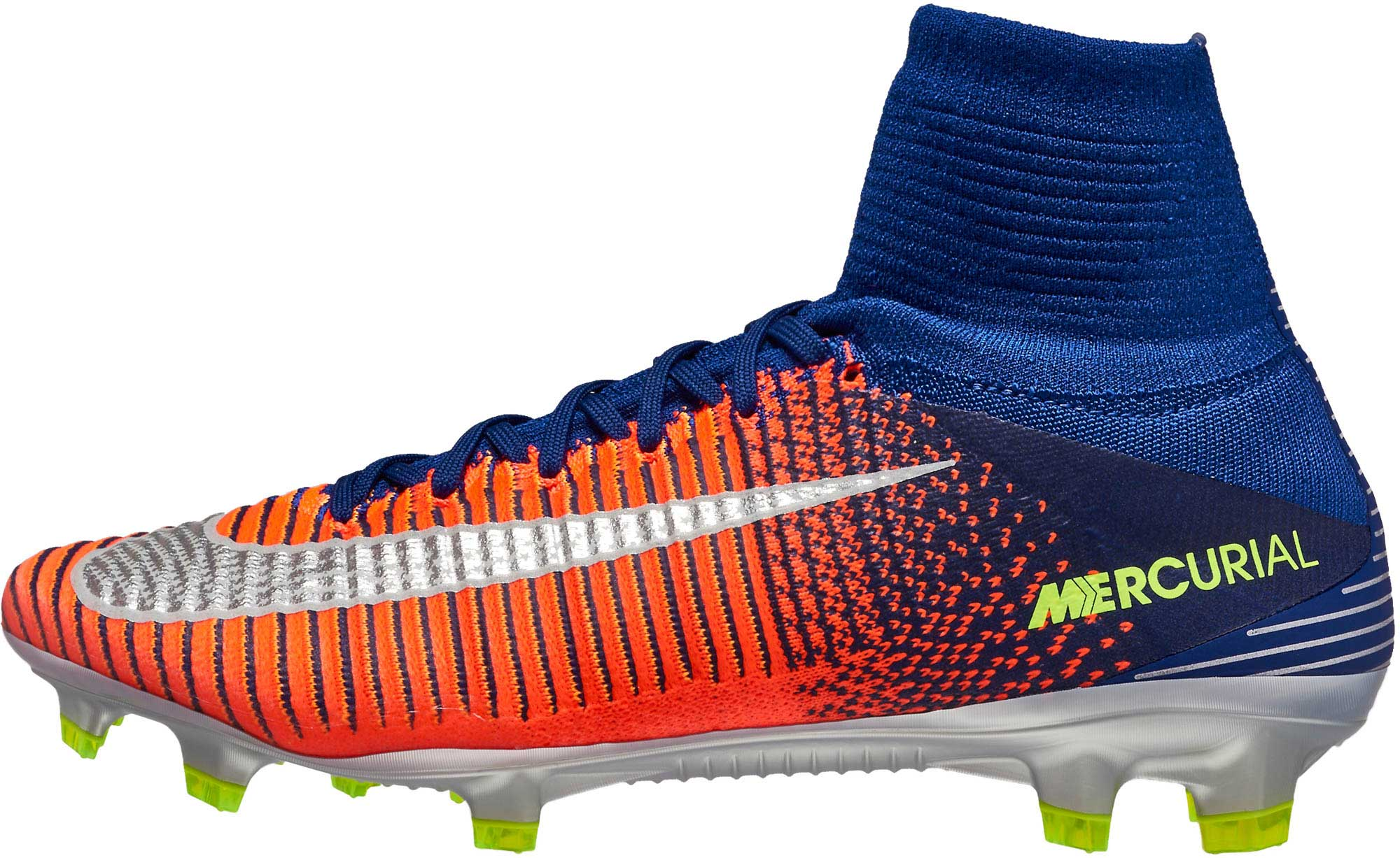 5960992b7 Nike Mercurial Superfly V FG Cleats - Blue Superfly V