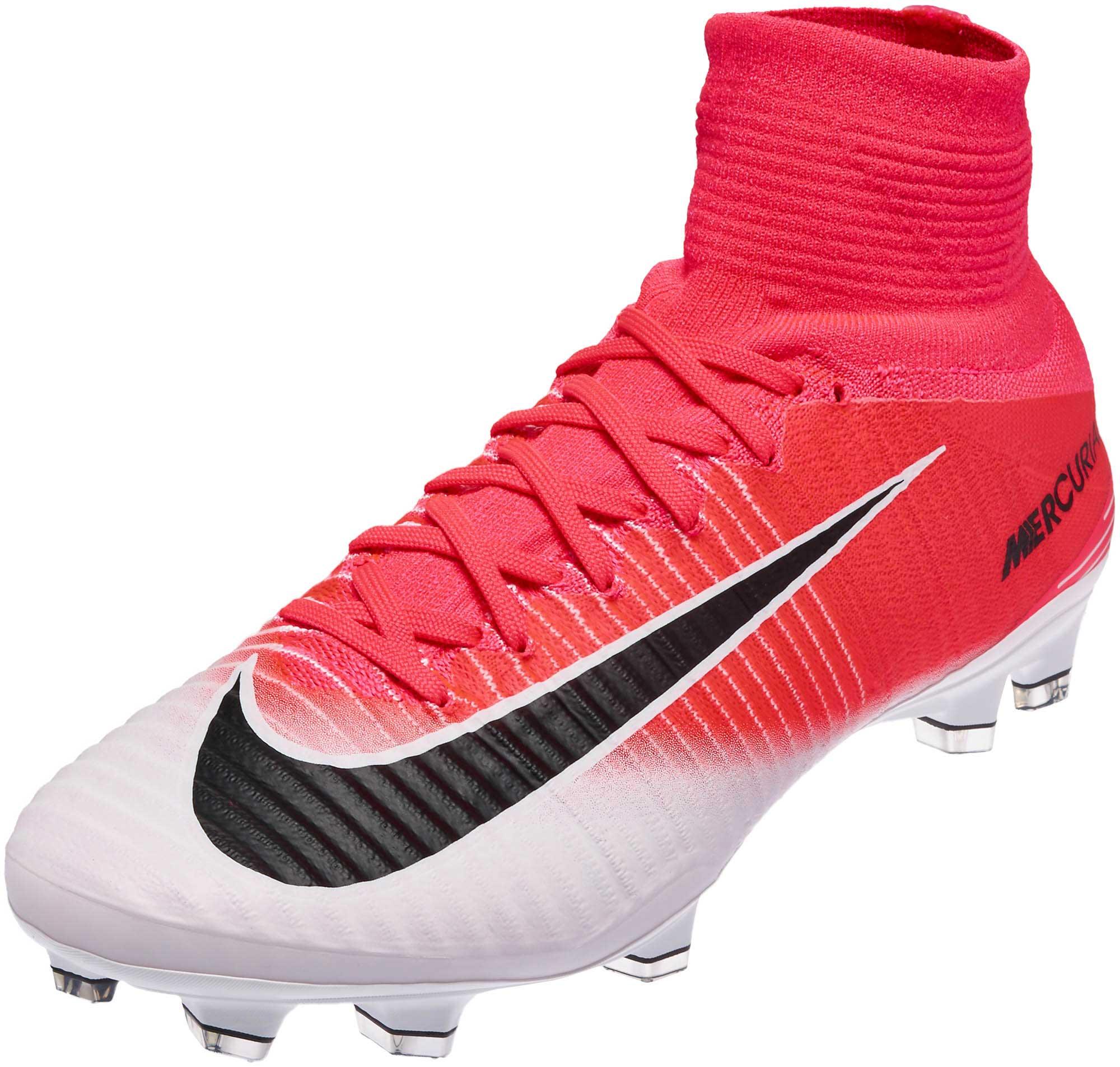 sale retailer a22ab 7f653 Nike Mercurial Superfly V FG – Racer Pink Black