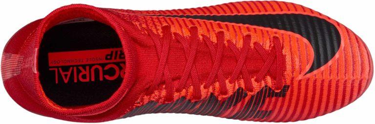 Nike Mercurial Superfly V FG – University Red/Black