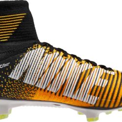 big sale c748c 05d95 Nike Mercurial Superfly V FG Soccer Cleats - Laser Orange ...